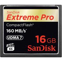 Sandisk COMPACT FLASH CARD 16GB