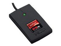 RF IDEAS pcProx Enroll HID Prox Black 5v USB pwr tap RS232 Reader