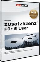Lexware zusatzlizenz 2017 fuer 5 User