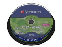 Verbatim CDRW 80MIN 700MB 8-10X