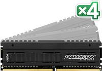 Crucial 16GB KIT (4GBX4) DDR4 3200 MT