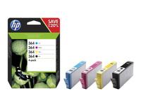 Hewlett Packard INK CARTRIDGE NO 364 B/C/M/Y