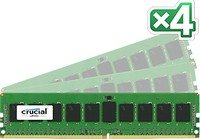 Crucial 32GB DDR4 KIT (8GBX4) 2133MT/S