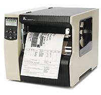 Zebra 220Xi4, 8 Punkte/mm (203dpi), Peeler, Rewind, ZPLII, Printserver