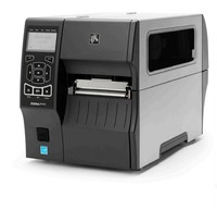 Zebra ZT410, 8 Punkte/mm (203dpi), Peeler, RTC, Display, EPL, ZPL, ZPL