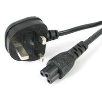 StarTech.com 2M C5 LAPTOP POWER CORD - UK