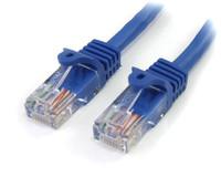 StarTech.com 1FT BLUE CAT 5E PATCH CABLE