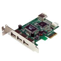 StarTech.com 4 PORT LP PCIE USB CARD