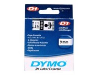 Dymo D1-TAPE 9MM X 7M