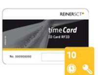 REINERSCT TIMECARD 6 CHIPKARTEN 10
