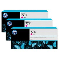 Hewlett Packard INK CARTRIDGE NO 771C 3-PACK