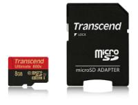 Transcend 8GB MICROSDHC CLASS10 UHS-1
