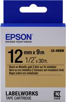 Epson TAPE - LK4KBM METALLIC BLK