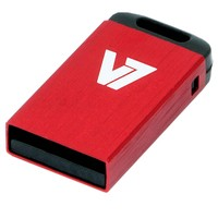V7 USB NANO STICK 4GB RED