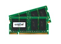 Crucial 4GB KIT (2GBX2) DDR2 800MHZ