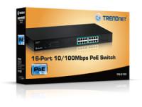 Trendnet 16-PORT 30W 10/100MBPS