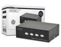Digitus VGA Switch 4 PCs, 1 Monitor