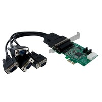 StarTech.com 4X PCIE SERIAL ADAPTER CARD