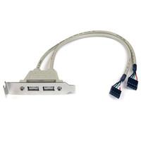 StarTech.com 2 PORT USB SLOT PLATE ADAPTER