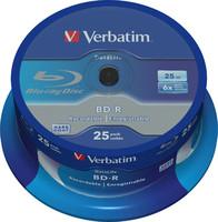 Verbatim BD-R SL DATALIFE 25GB 6X 25PK