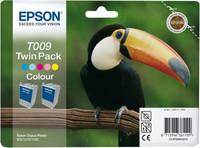 Epson INK CARTRIDGE CLR - TWIN PA