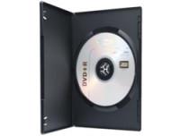 Ednet DVD Single Case slim, 10 Stück