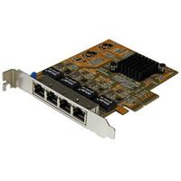 StarTech.com 4-PORT PCIE GIGABIT NIC