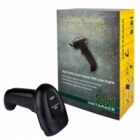 Metapace S-61 bulk, 1D, Kit (USB), schwarz