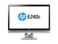 Hewlett Packard E240c 23.8IN IPS ANA/DP/HDMI