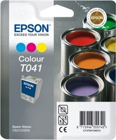 Epson INK CARTRIDGE COLOUR T041
