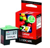Lexmark INK CARTRIDGE COLOR NO27