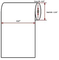 Datamax-Oneil LINERLESS/REM 4.40 X 85 BOX