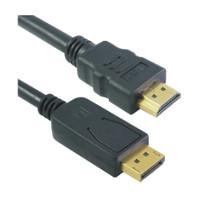 Mcab DisplayPort to HDMI cable, 5m