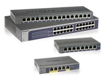 Netgear 5-Port GB Plus Switch, Desktop