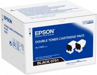 Epson WORKFORCE AL-C300 BLACK(DOUBLE