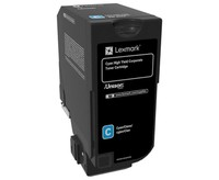 Lexmark CORPORATE CYAN TONER CARTR