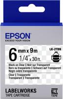 Epson TAPE - LK2TBN CLEAR BLK