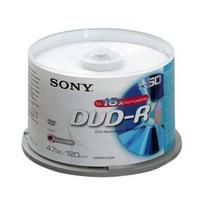 Sony DVD-R, 16X, SPINDLE-BULK 50PCS