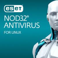 ESET NOD32 Antivirus Business Edition for Linux Desktop 26-49 User 1 Year New