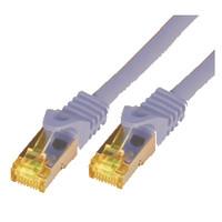 Mcab CAT7 S-FTP-PIMF-LSZH-1.00M-GRA