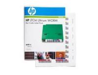 Hewlett Packard ULTRIUM 4 WORM BAR CODE LABELS