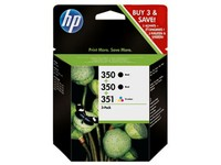 Hewlett Packard HP 350/350/351 3PK