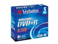 Verbatim DVD+R DL 8X 5PZ JEWEL CASE
