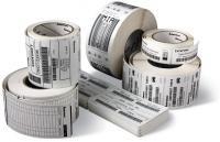 Zebra Z-Select 2000D, Etikettenrolle, Thermopapier, 76x51mm, 12 Stück