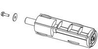 Datamax-Oneil Assy 40mm Media Supply Hub
