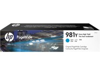 Hewlett Packard INK CARTRIDGE 981Y CYAN