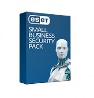 ESET Small Business Security Pack 10User 1Year Ren Bundle Endpoint Security File Security Mail Secur