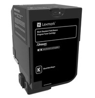 Lexmark RETURN-TONER CARTRIDGE BLACK