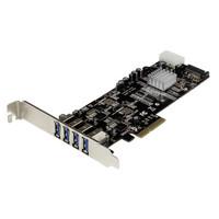 StarTech.com 4 PT 2 CHANNEL PCIE USB 3 CARD