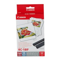 Canon KC-18IF INK AND PAPER SET